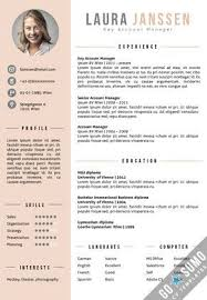 Modern Cv Sample Cv Template Vienna Cv Template Resume Design Modern Cv