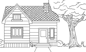 House Coloring Pages Printable 6 52728