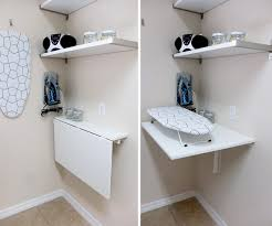 unique fold down wall table for laundry room 99 your home based