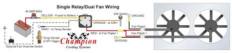 how to properly wire electric cooling fans Painless Ls Wiring Diagram For Dual Fans Dual Switch Wiring Diagram