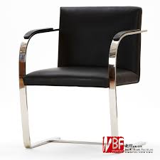 minimalist office chair. nbf north shore bruno leisure chair modern leather office conference parlor chairs minimalist stainless steelin from furniture on w