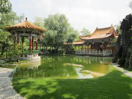 Small Picture Outdoor Chinese Garden Design With Small Pond To Feng Shui House