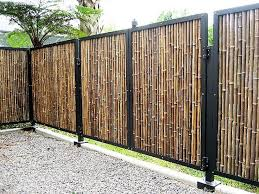 Small Picture The 25 best Bamboo garden fences ideas on Pinterest Bamboo