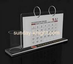 Lucite Stands For Display Lucite Manufacturer Customized Acrylic Desk Calendar Holder ODK 59