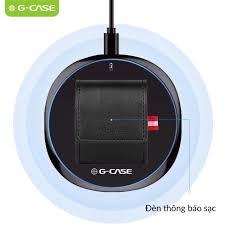 Bao da Airpods tích hợp sạc không dây ®️Chính hãng G-CASE Nam Phụ Kiện