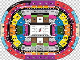 Portland Memorial Coliseum Detailed Seating Chart Portland Trail Blazers Moda Center Rose Quarter Veterans