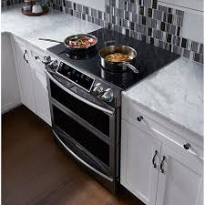 30 in slidein electric range with wifi black stainless steel 8101065 hsn slide in stove h41