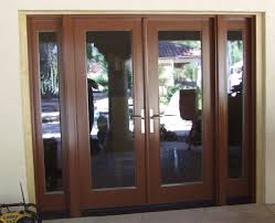 pre finished external patio french doors