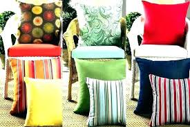 patio chair cushions sunbrella outdoor furniture wicker with cushion target