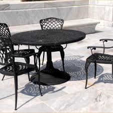 awesome outdoor furniture wrought iron dining sets iron patio dining set