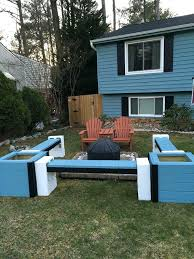 cinder block furniture. Unique Furniture Cinder Block Furniture Backyard  Deck With