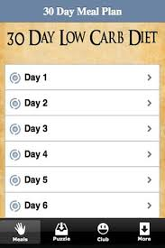 30 day low carb meal plan weight loss tips 30 day diet program