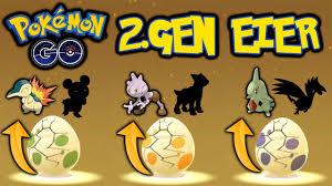 ALLE GENERATION 2 EIER | Pokémon GO deutsch - YouTube