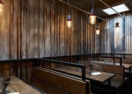 london restaurant resembling a ramsle farm building by brinkworth