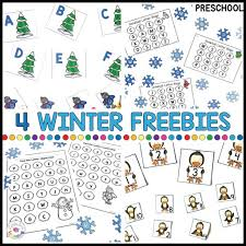Check out our collection of printable phonics worksheets for kids. 4 Free Must Have Winter Printables For Preschool Math Literacy