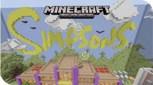 minecraftsimpsonshide  seek map  youtube