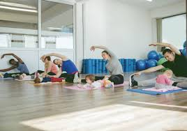 tips for exercising after having a baby