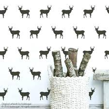deer wall stickers image 0 tree and deer wall decal