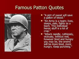 Patton Quotes Mesmerizing General George Patton