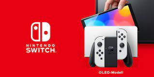 Nintendo Switch (OLED-Modell) erscheint ...