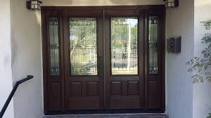 double entry doors wrought iron