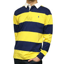 polo ralph lauren polo ralph lauren horizontal stripe rugby shirt cotton jersey rugby shirt boys boys 20a398967t20 y