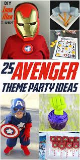 25 avengers party ideas
