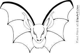 Small Picture Bat For Halloween Coloring Pages Coloring Coloring Pages