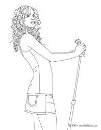 Small Picture Taylor Swift posing coloring page More Taylor Swift coloring