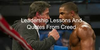 Creed Quotes Stunning 48 Leadership Lessons And Quotes From Creed Rocky 48 Joseph Lalonde