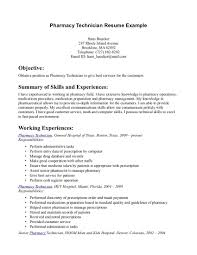 Skills To Have On Resume Pharmacy Technician Resume Skills TGAM COVER LETTER 87