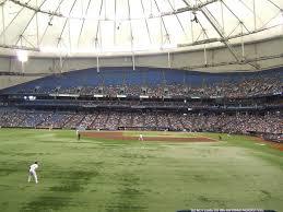 Tropicana Field Seating Chart With Rows Tropicana Field Tampa Bay Rays Ballpark Ballparks Of Baseball