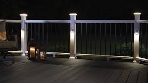 outdoor led deck lights. illuminate your outdoor living space with the ambience of fiberon low-voltage led deck, led deck lights