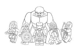 Get This Avengers Coloring Pages Free Printable 62761 Home