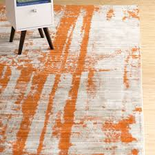 36 pictures of lovely orange and gray area rug august 2018