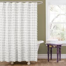 fabulous dot swirl shower curtain hayneedle in extra long