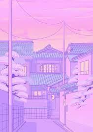 Purple Anime Aesthetic Wallpapers ...