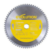 Evolution Power Tools 10 in. 66-<b>Teeth Stainless</b>-<b>Steel</b> Cutting Saw ...