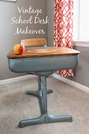 diy furniture refinishing projects. refinishedschooldesk was refinishing a vintage school desk for diy furniture projects