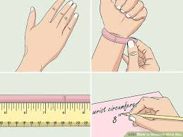 How To Measure Wrist Size 10 Steps Wikihow