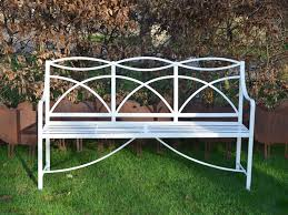 wrought iron garden furniture. a regency wrought iron garden bench the cotswold art u0026 antique dealers association furniture n