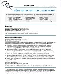 Examples Of Medical Resumes Custom Resume Medical Assistant Inspirational Resume Templates For Medical