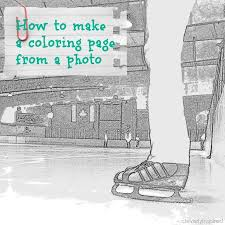 Small Picture How to make a coloring page from a photo