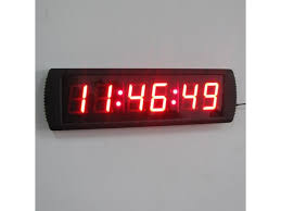 led wall clock inside indoor 3 led digital for office prepare battery operated india with