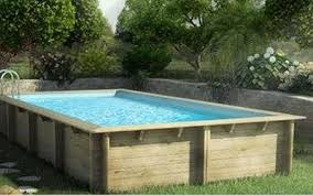 Wood Above Ground Swimming Pools Rectangle X Luxury