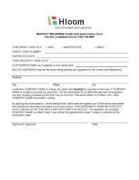 Recurring Payment Authorization Form Recurring Payment Authorization Form Lscign