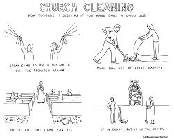 Church Cleaning Cartoon Cartoonchurch Com By Dave Walker