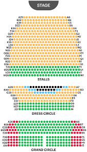 Alexandra Palace Seating Chart Headout West End Guide Gielgud Theatre Seating Plan
