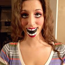 ventriloquist dummy makeup