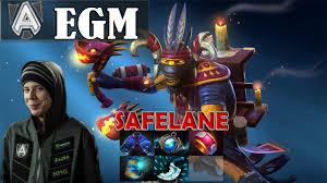 egm shadow shaman safelane pro gameplay dota 2 mmr youtube